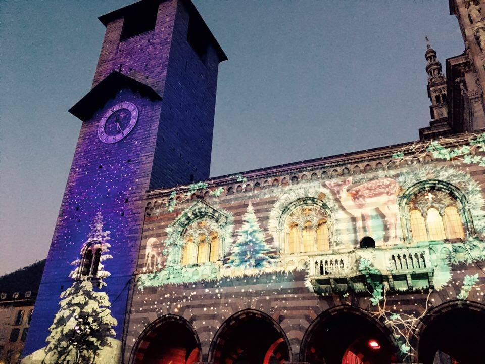 Como Magic lights festival