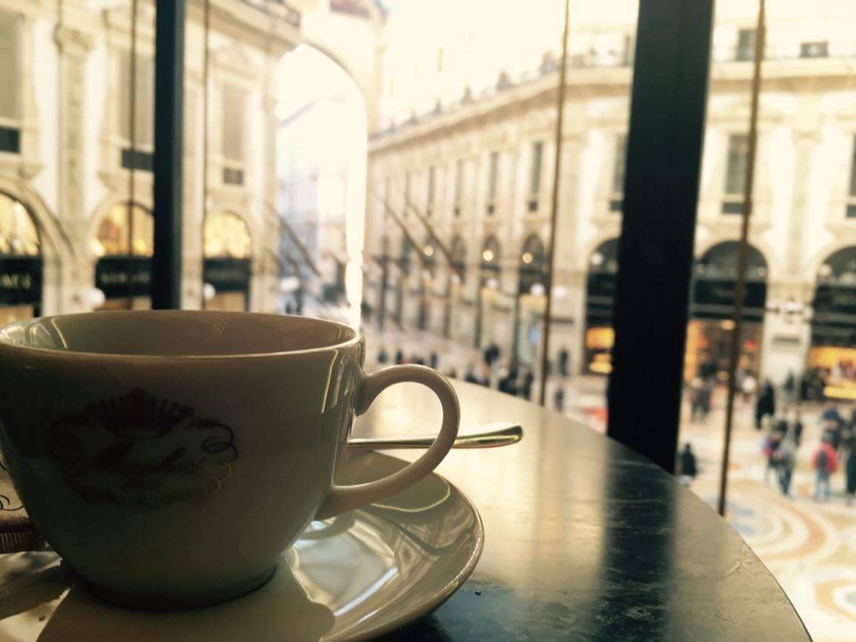 kawa w mediolanie