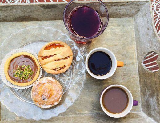 śniadanie we florencji