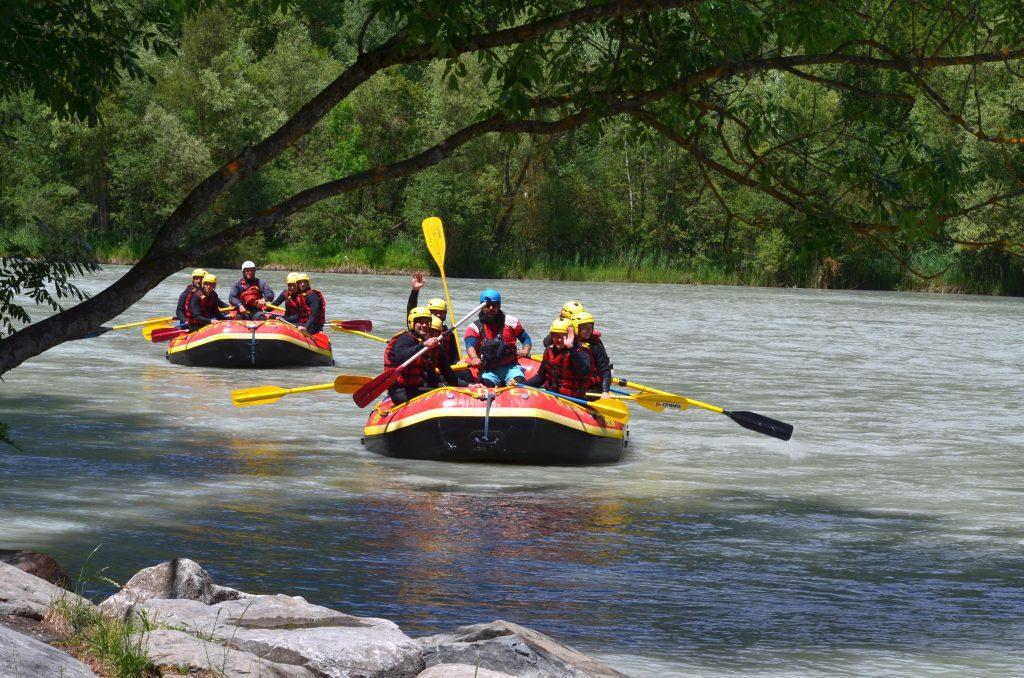 rafting dolina aosty