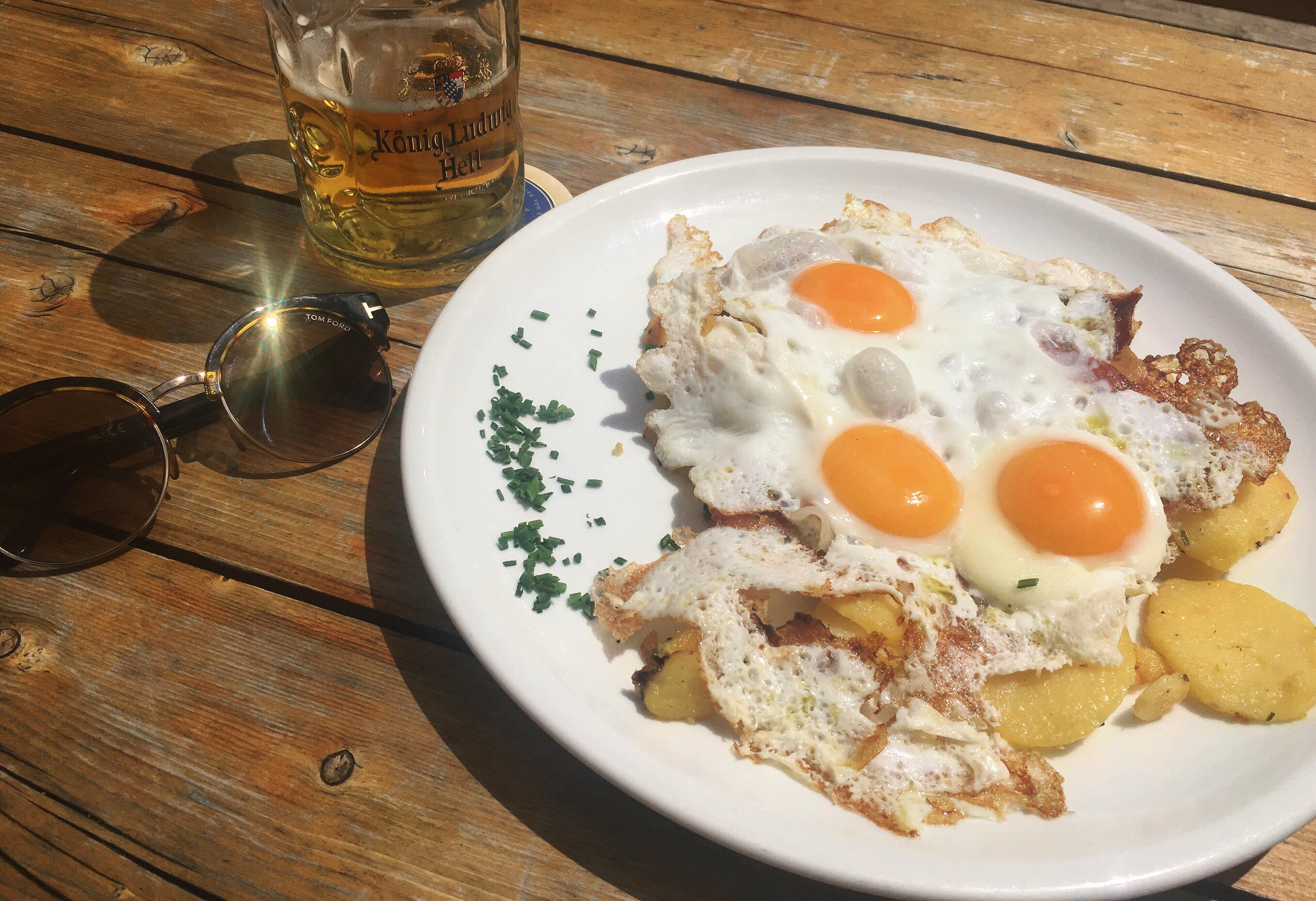 speck uova patate