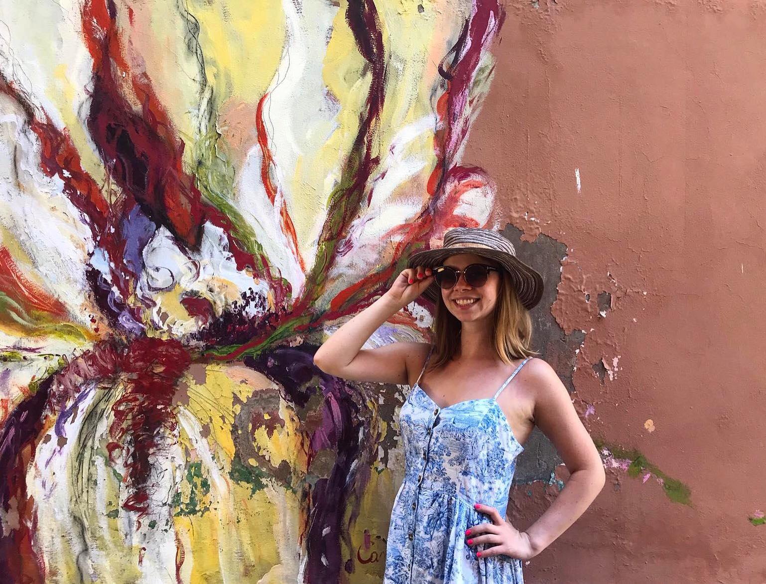 dozza włochy murales